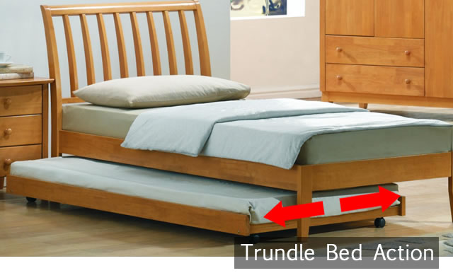 Trundle Bed Action