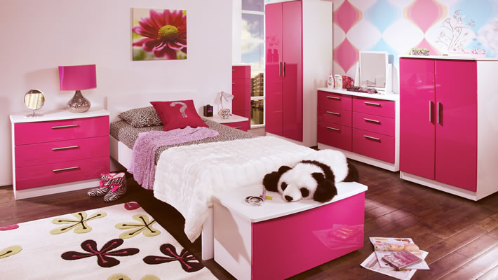Girls Pink Bedroom Furniture. Buying The Perfect Children\u0027s Bedroom  Furniture. Teen White