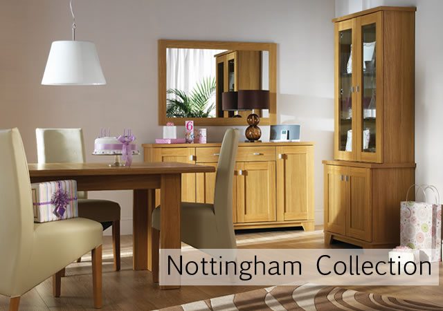 Nottingham Oak Living And Dining Room Furniture