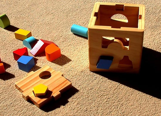 Coloured Shapes Toy