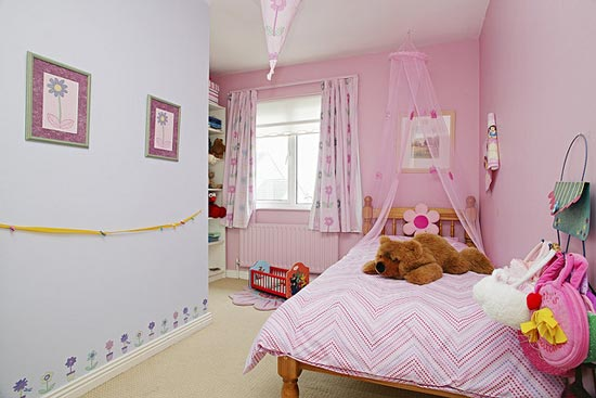 Pink Kid's Bedroom