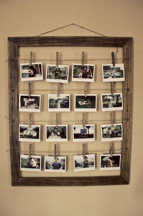 16 Picture Photo Frame