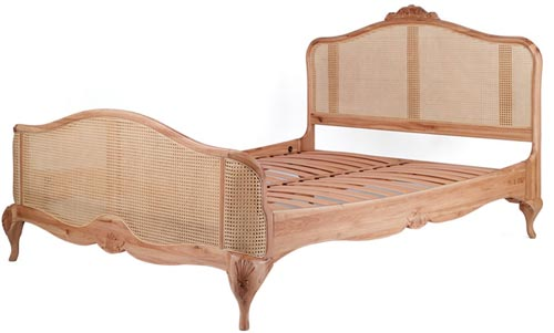 18th century French style rattan bed
