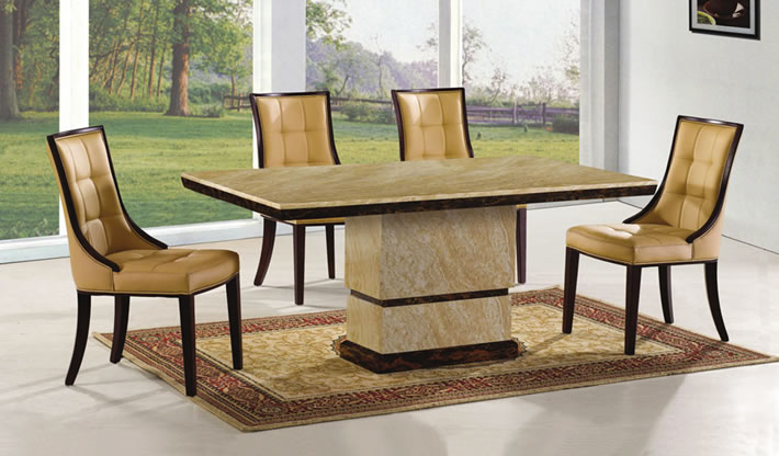 Pick Of The Week Amida Marble Dining Table Set Frances Hunt
