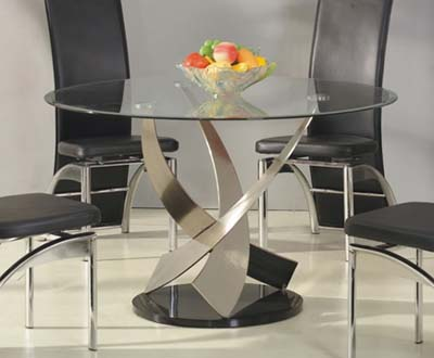 how to clean glass dining tables