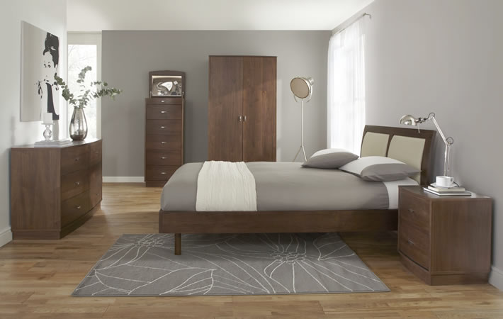 this week we take a peek at the delectable como walnut bedroom range