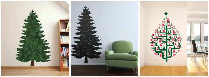 10 Creative Christmas Tree Ideas for Small Spaces - Frances Hunt