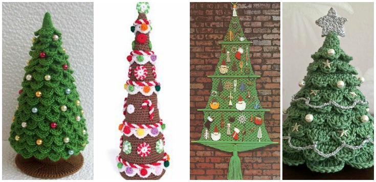 Space Saving Christmas Trees