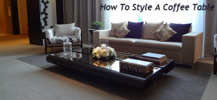 How To Style A Coffee Table how to style a coffee table - frances hunt