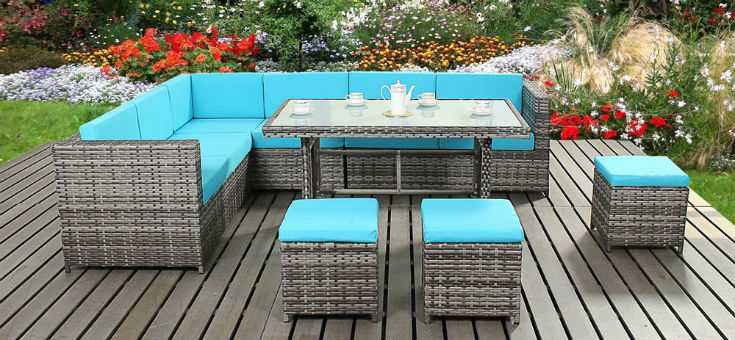 Beau Contemporary Rattan Garden Furniture