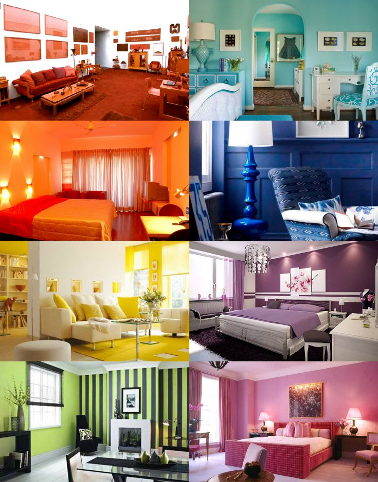 Monochromatic color scheme room Decorating color schemes