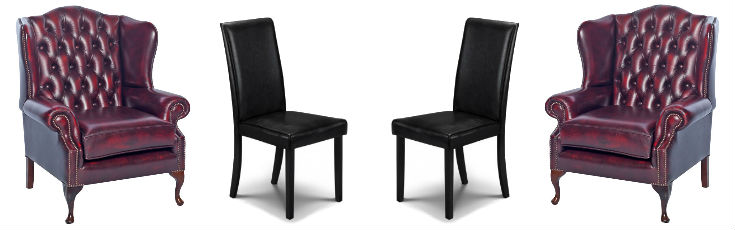 Accent Mismatched Chairs