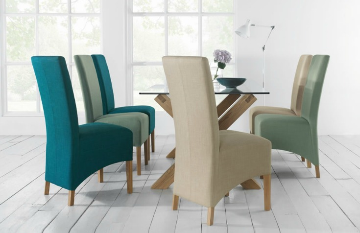 Mismatched Dining Chairs