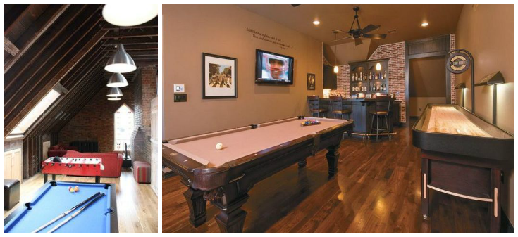 Games Room Ideas For The Average Home