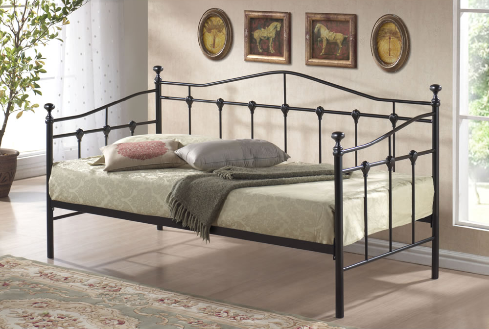 Metal Black Bed