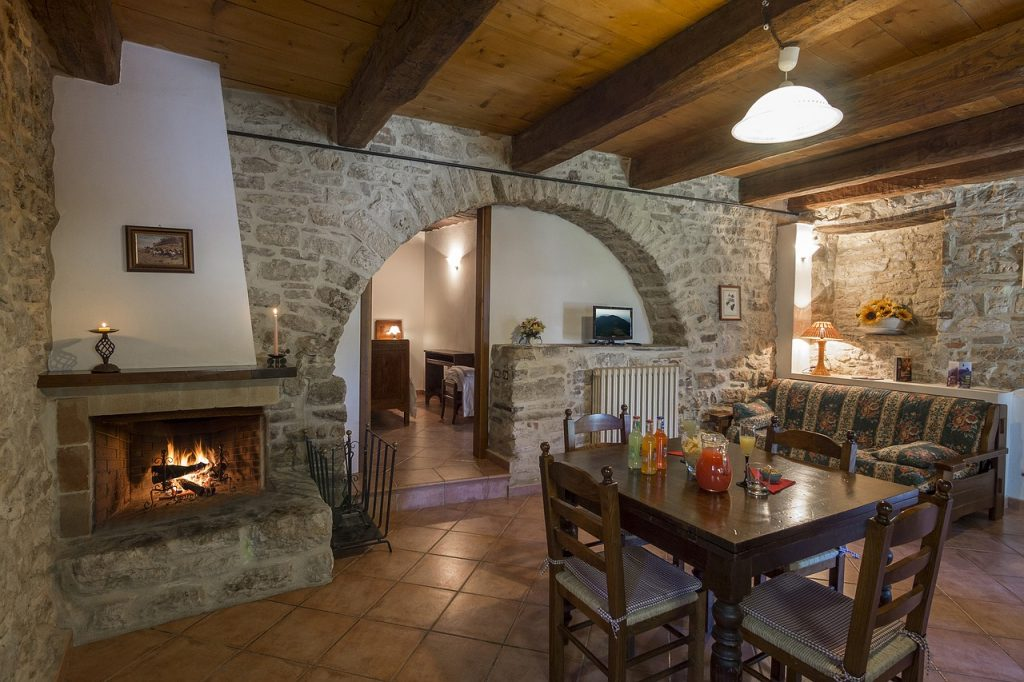 Stone Cottage Dining Room