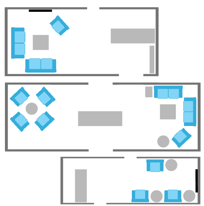 Reception & Waiting Area Layouts
